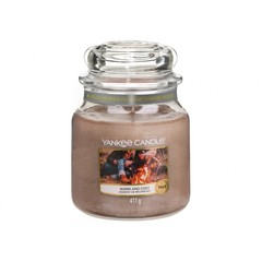 Yankee Candle WARM AND COSY stredná