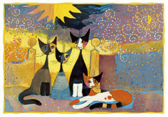 Pohľadnica Rosina Wachtmeister - Outside the gate