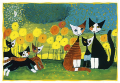 Pohľadnica Rosina Wachtmeister - All together